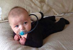 kid halloween costumes, scuba diver, cutest babies, first halloween, milk bottles