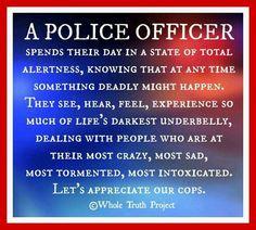 Let's appreciate our cops