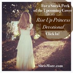I can hardly wait to to release my 60 Day Devotional, Rise Up Princess!! To get a sneak preview of the AMAZING cover by Gunnpoint Photographybefore anyone else, join the book's Email List! You'll also be the first to see my promo trailer, special offers & the official release date!! Kristen Dalton Wolfe