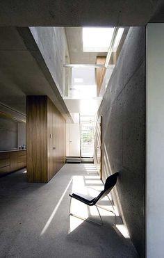small concrete space