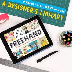 2 days to go.....This month an ebook version of my book Freehand on sale across a variety of ebook retailers: http://www.chroniclebooks.com/ebook-deals
