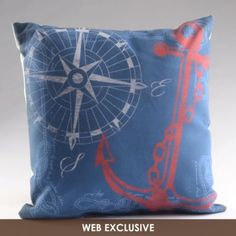 anchors, kirkland pinitpretti, boats, backgrounds, bedrooms, nautical bedroom, pillows, boat decor, revers pillow