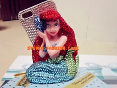 My lovely little mermaid iphone 4 case iphone 4s case by mystuded, $38.99 For the Disney lovers!