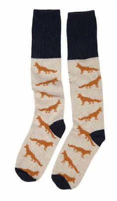 Woodland socks - Fox - Plümo Ltd