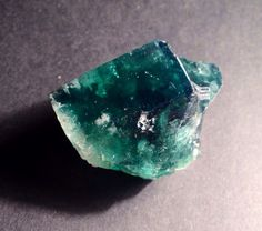 Green Fluorite Rogerley Daylight Fluorescent Cluster no.2 on Etsy, $18.00