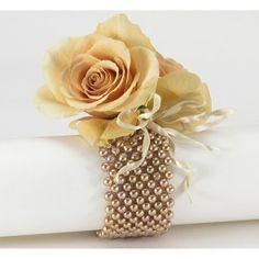 antique rose wristlet