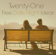 21 Free Date Night Ideas // these are cute
