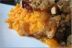MacaRona & Sweet Tea Holiday Edition: Mom's Sweet Potato Souffle'