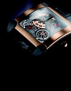 Manufacture Rodolphe Cattin Tempovision Square Tourbillon