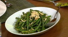 the chew | Recipe  | Daphne Oz's Green Beans With Almonds