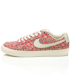 I love collaborations and Nike and Liberty have hit the nail on the head with this fabulous shoe