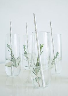 Cucumber-Rosemary Gin and Tonic | Julep