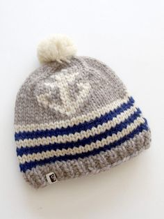 anchor knitted hat