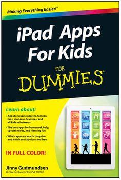 iPad Apps for Kids for Dummies Book #technology #homeschool #apps #ipad #kids