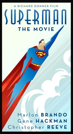 #Superman the movie poster
