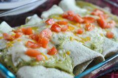 Pesto Chicken Enchilada With Cheese -  Recipe - Suburble.com (1 of 1)