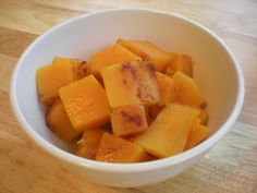Maple Roasted Butternut Squash (and breakfast, too!) | My Paleo CrockPot