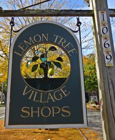 Lemon Tree Village, located on the Historic Old King's Highway in Brewster on Cape Cod.  A selection of unique shops, each owned and operated by local Cape Cod families.  Lemon Tree Pottery was the first shop at the village, followed by The Cook Shop.