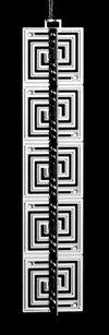 Frank Lloyd Wright - Whirling Arrow Wrightsicle $33