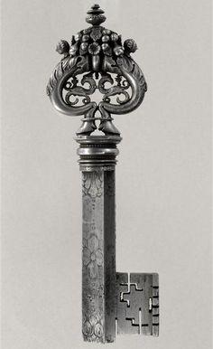 Beautifully detailed key