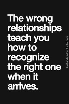 wrong relationships have a purpose