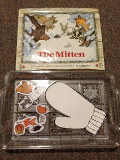 The Mitten Activities from Nestpirations preschool pizzazz, preschool januari, book, preschool idea, preschool privat, nestpir, letters, mitten, winter preschool