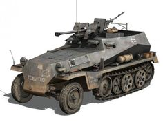 SD KFZ 250 Halftrack Tank Hunter