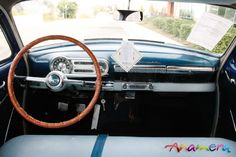 The dash of the '53 Bel Air