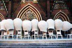 . social sofa, nachos, urban art, social design, seats, people, art urbana, dutch design, nacho carbonel