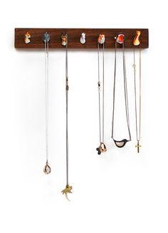 Pack Rack™ Animal Head Jewelry Holder - $58