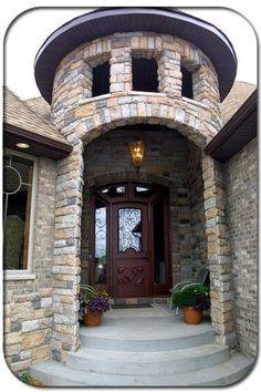 Castle Style Entrance