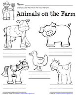Kinder-Craze: Farm Acitivity FREEBIE!
