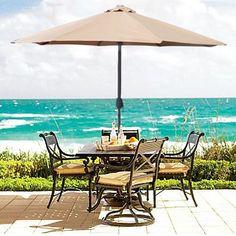 9′ Patio Umbrella : $34.99 + Free S/H (reg. $119.95)