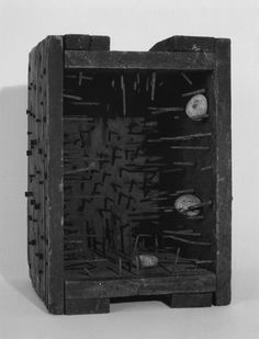 Robert Rauschenberg, Music Box, 1953
