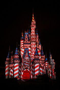 Christmas in Magic kingdom