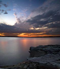 Sunset, Rhode Island #VisitRhodeIsland