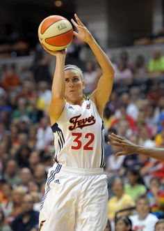 Jeanette Pohlen of the Indiana Fever
