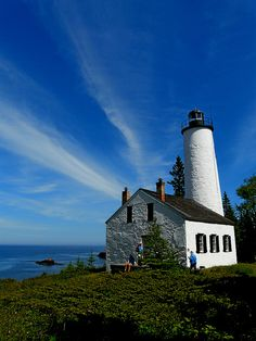 Rock Harbor Light, Lake Superior