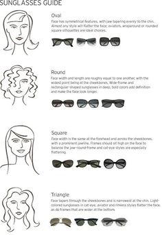 sunglasses for your face shape!