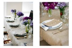 Table top: rustic + classy