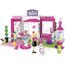 Mega Bloks Barbie Build 'n Style Pet Shop Play Set