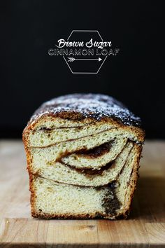 Brown Sugar Cinnamon Loaf by thesugarhit  #Bread #Cinnamon #Brown_Sugar