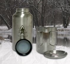 GEN3 Pathfinder Stainless Steel 32 oz. Bottle & Nesting Cup Set - Self Reliance Outfitters™
