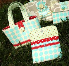 great tutorial for making purses