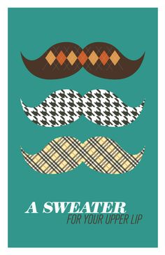 sweaters, upper lip, lips, mustach poster, posters, poster designs, print, mustach sweater, parti
