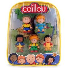 backpacks, birthday fun, caillou birthday, babykid stuff, toys, bday parti, gift idea, caillou figur, caillou parti