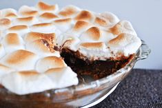 8. S'mores Pie | Community Post: 19 S'mores Recipes That Will Change Your Life