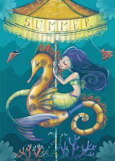 "Alessandra Fusi - ""An Underwater Carousel"""