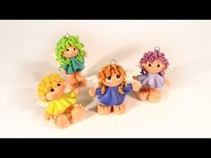 polym peopl, clays, tutorials, modelini, tutorial fimo, clay critter, angels, craftspolym clay, angel tutori