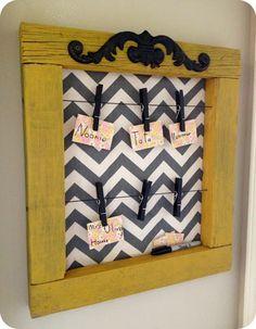 Prayer Board. I really adore this idea, so sweet